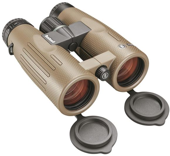 Picture of Bushnell Binoculars, Forge - 8x42mm, PC-3 Phase Coated Roof Prism, Waterproof/Fogproof, EXO Barrier, ED Prime Glass, Ultra Wide Band Lens Coating, Brown