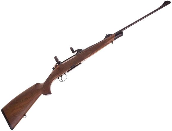 Picture of Used Heym SR30 Bolt-Action .270 Win, Straight Pull Bolt, With 30mm EAW Scope Rings & Iron Sights, Single Set Trigger, One Mag, Hard Case, Excellent Condition