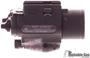 Picture of Used M6X Flashlight Laser Combo, Black, Red Laser, Like New