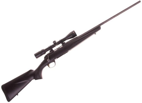 "Picture of Used Browning X-Bolt Composite Stalker Bolt Action Rifle - 300 WSM, 23"", Matte Blued, Sporter Contour,Black Dura-Touch Stock, Bushnell Elite 4200 3-9x40 Scope, Talley Lightweight Rings, 1 Magazine, Excellent Condition"