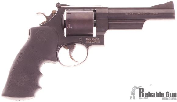 "Picture of Used Smith & Wesson Model 25-7 Double-Action 45 Colt, 5"" Barrel, Model of 1989, Unfluted Cylinder, Very Good Condition"