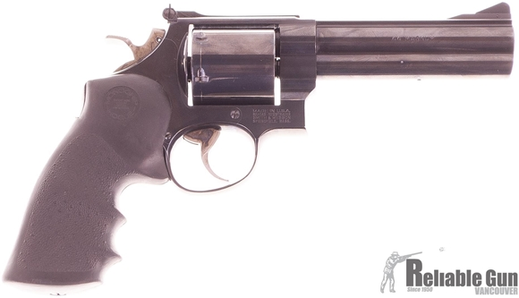"Picture of Used Smith & Wesson Model 29-4 Double-Action 44 Mag, 5"" Barrel, 1989 Vintage Hill Country Distributor 1 of 500, Unfluted Cylinder, Very Good Condition"