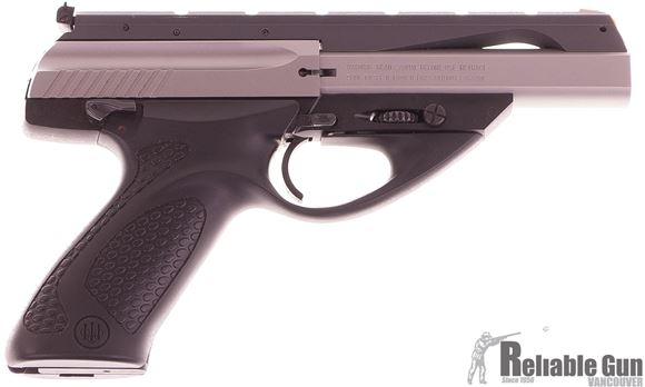 """Picture of Used Beretta U22 Neos Semi-Auto 22 LR, 4.5"""" Barrel, Stainless, One Mag, Excellent Condition"""