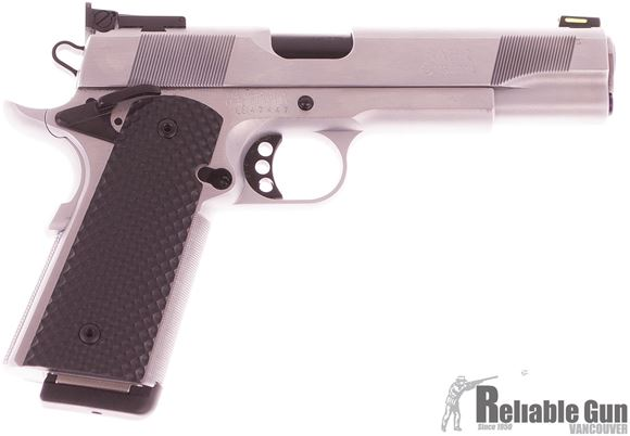 Picture of Used, Les Baer Hemi, 45 Acp, 5'', 1911 Pistol, Hard Chrome Frame And Slide, VZ Black Recon Grips, 1 Magazine Excellent Condition