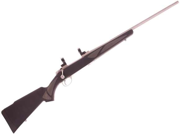 Picture of Used Sako 85 Finnlight 270 Win, Stainless 22'' Fluted Barrel, Synthetic Stock, 1 Magazine, Optilock 1'' Scope Mounts, Excellent Condition