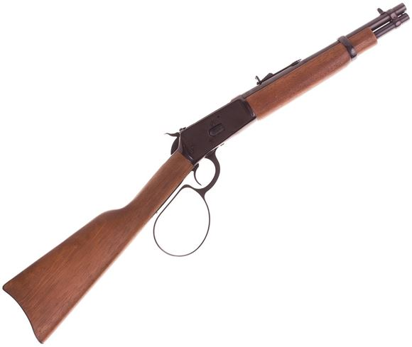 """Picture of Used Rossi 92 Ranch Hand Lever-Action 357 Mag,12"""" Barrel, w/Extra Full Stock, Big Loop Lever, Very Good Condition"""