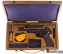 Picture of Used Vostok Margolin Semi Auto Pistol, .22 Long Rifle, 2 Mags, Original Wooden Case, Very Good Condition