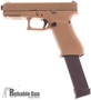 Picture of Used Glock 19X Gen 5 Canadian Edition - 9mm Luger,106mm Factory Barrel, FDE Frame & Slide, 2 x (33/5) Glock Magazines, Glock Nightsights, Very Good Condition