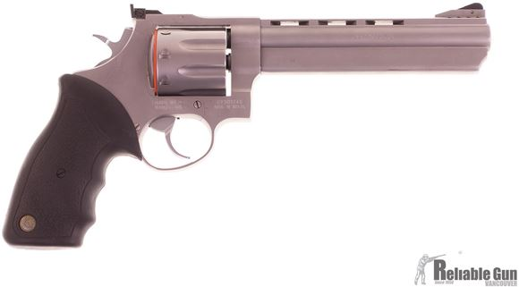 "Picture of Used Taurus 608 Double-Action 357 Mag, 6.5"" Barrel, With Holster, 2 Speedloaders & Hard Case, Very Good Condition"