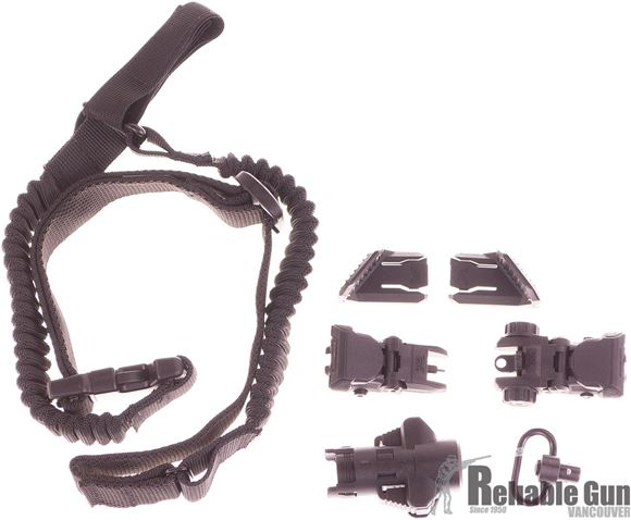 Picture of CAA - MCK Micro Conversion Kit Accesories - Upgrade Kit for MCK & Micro-Roni, Flip Up Sights, 1 Point Sling, Thumb Rests, Flashlight, Push Button Sling Swivel