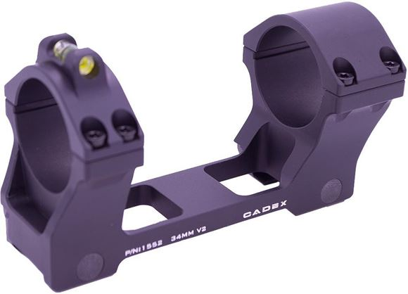 Picture of Cadex Defence Rifle Accessories - One Piece Scope Mount, 34mm, With Bubble Level