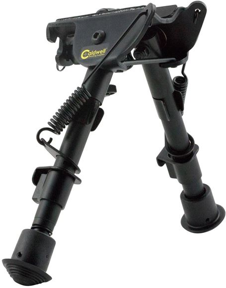 "Picture of Caldwell Shooting Supplies - XLA Bipod, 6-9"", Fixed Mount, Sling Stud"