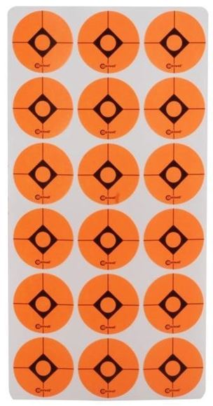 "Picture of Caldwell Shooting Supplies Paper Targets - Shooting Spots And Squares, 1"", Spots, 12 Sheet Pack"