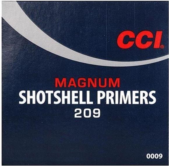 Picture of CCI Primers, Shotshell Primers - No. 209M, Magnum Shotshell Primers, 1000ct Brick