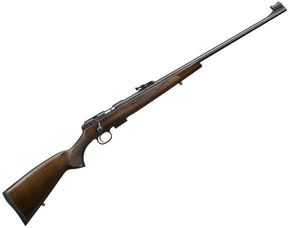 """Picture of CZ 457 Lux Bolt-Action Rifle - 22 LR, 24.8"""", Cold Hammer Forged, Turkish Walnut European Style Stock, Detachable Mag, Adjustable Trigger, 5rds"""