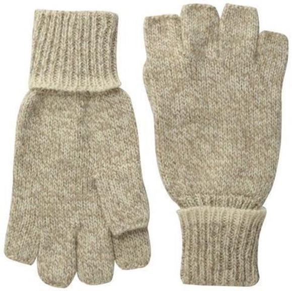 Picture of Danielson Gloves - Ragg Wool Knitted Glove, Fingerless, Large