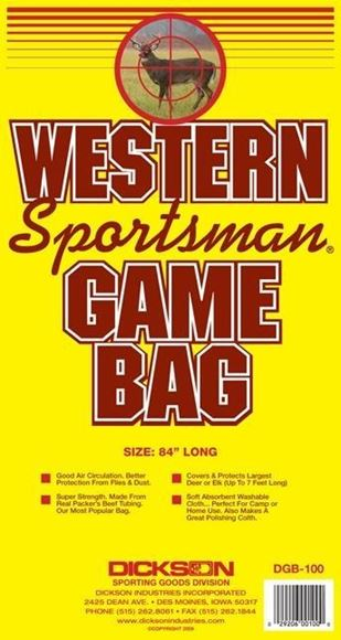 Picture of Dickson Game Bags - Western Sportsman Game Bag, 84""