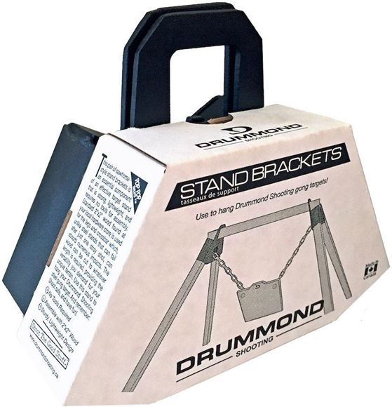 Picture of Drummond Shooting Hardware Pack - Gong Stand Bracket For AR550/AR500/AR450 Gongs