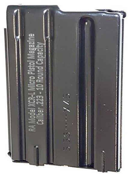 Picture of E-Lander Magazine XCR-L 5.56 NATO 10rd Pistol Magazine, Steel, Black