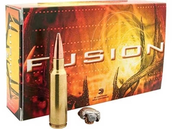 Picture of Federal Rifle Ammo, Fusion - 300 Win Mag, 150Gr, Molecular-fused Jacket, 20rds box, 3200fps