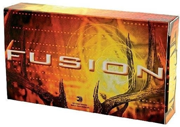 Picture of Federal Fusion Rifle Ammo - 7mm-08 Rem, 120Gr, Fusion, 20rds Box
