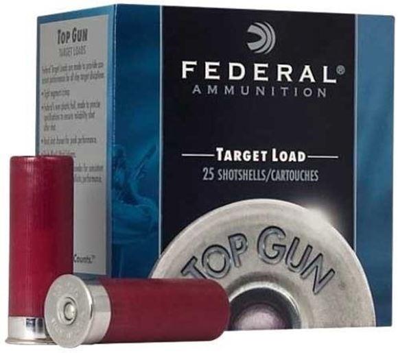 "Picture of Federal Top Gun Target Load Shotgun Ammo - 12Ga, 2-3/4"", 3DE, 1oz, #8, 25rd Box"