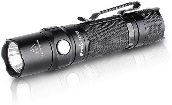 Picture of Fenix Flashlight, LD Series - LD12, Cree XP-G2 (R5), 320 Lumen, 1xAA, Black, 54g