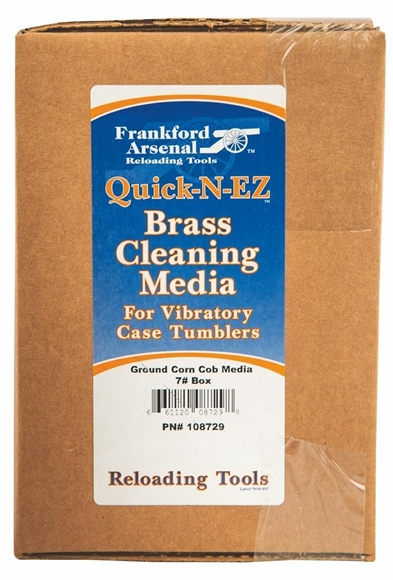 Picture of Frankford Arsenal Reloading Tools Media & Polish - Ground Corn Cob Media 7 lbs