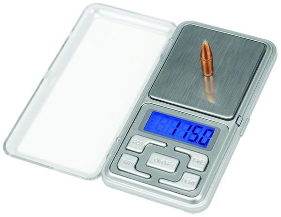 Picture of Frankford Arsenal Reloading Tools & Scales - DS-750 Digital Reloading Scale, 750Gr (50g) Capacity, +/- 0.1Gr (0.005g), 2xAAA