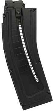 Picture of German Sport Guns (GSG) Magazines - GSG-15, 22LR, 22rds, Black, Also Fits IISC MK22