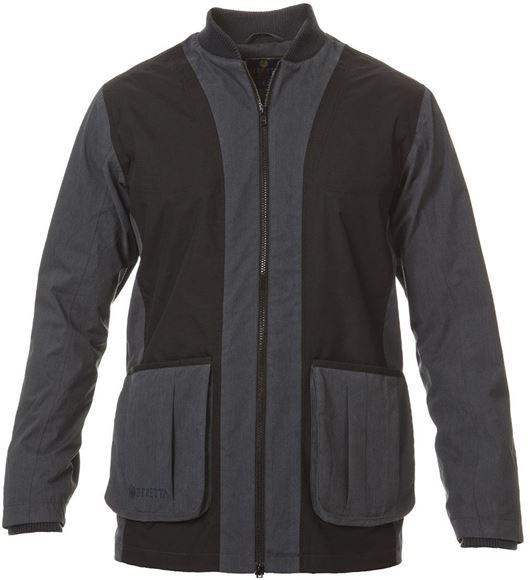 Picture of Beretta Men's Clothing, Jackets - Beretta Bisley Waterproof Shooting Jacket, Blue Insigna, Large
