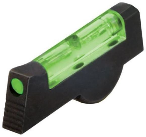 """Picture of HiViz Handgun Sights, Smith & Wesson, Front Sights - Fiber Optic Front Revolver Sight, Green, For S&W Model 617, Installed Height .165"""""""