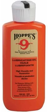 Picture of Hoppe's No.9 Gun Oils - Lubricating Oil, 2-1/4 oz Squeeze Bottle