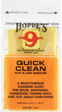 "Picture of Hoppe's No.9 Cleaning Accessories, Quick Clean Rust & Lead Remover Cloth - 12-1/2""x8-1/2"""