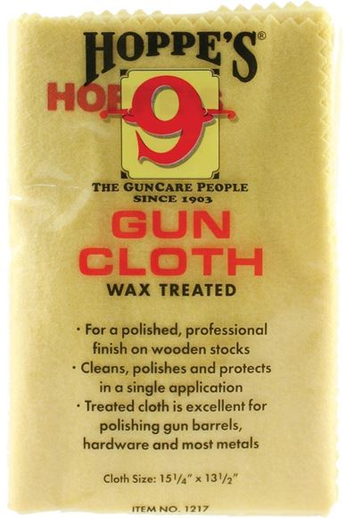 """Picture of Hoppe's No.9 Cleaning Accessories, Wax Treated Gun Cloth - 12""""x17"""""""