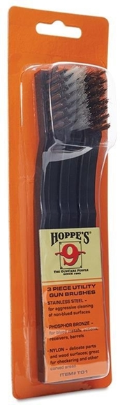 Picture of Hoppe's Utility Gun Cleaning Brushes - 3 Pack