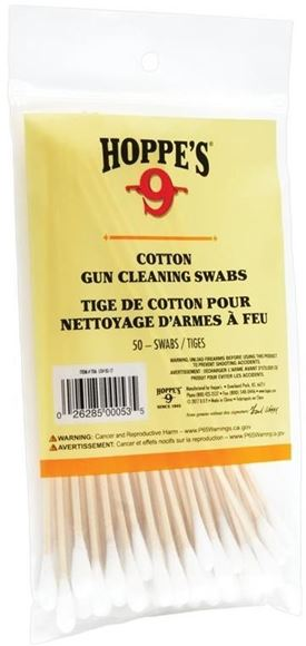 Picture of Hoppe's 9 Cotton Cleaning Swab Wood Grain - 5.9in