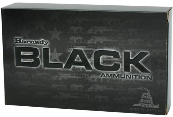 Picture of Hornady Black Rifle Ammo - 223 Rem, 75Gr, BTHP Match, 200rds Case