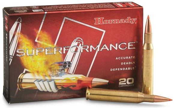 Picture of Hornady Superformance Rifle Ammo - 7mm Rem Mag, 154Gr, SST Superformance, 200rd Case