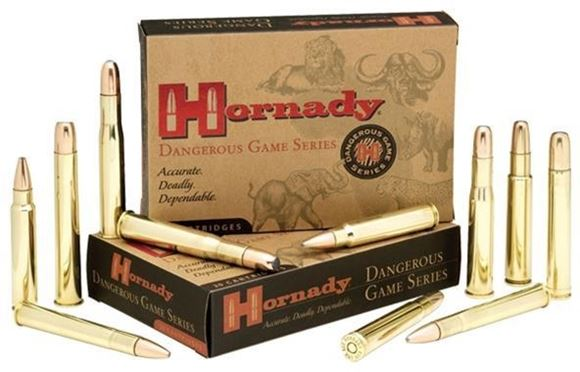 Picture of Hornady Rifle Ammo - Dangerous Game Series, 416 Rigby, 400gr DGX, 2415fps
