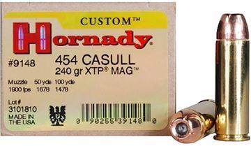 Picture of Hornady Custom Handgun Ammo - 454 Casull, 240Gr, XTP Mag, 20rds Box
