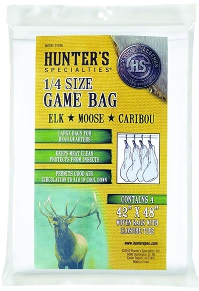 """Picture of Hunters Specialties Game Bags - Full Size Game Bag, 40""""-48"""", Woven Bag w/ Closure Tie"""