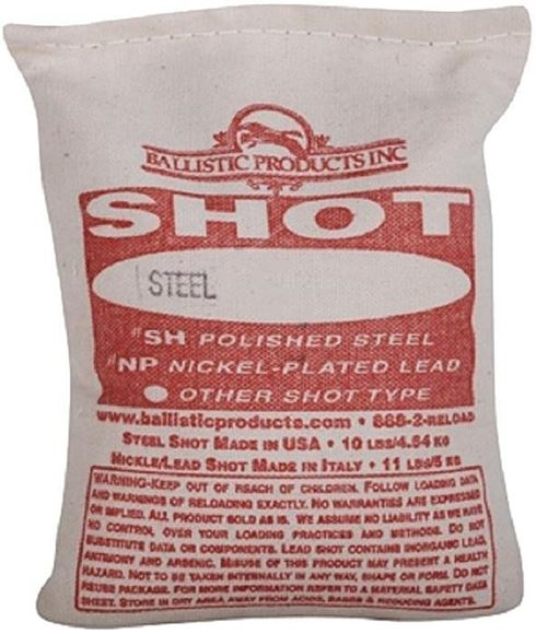 Picture of Hummason Manufacturing - Extra Hard Lead Shot, #7.5, 25lb Bag