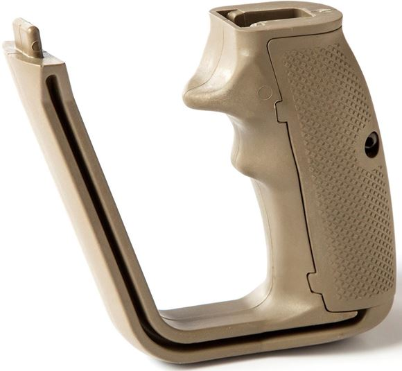 Picture of Israeli Weapon Industries (IWI) Tavor Parts - X95 Pistol Grip, FDE