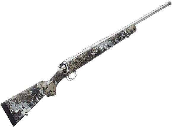 """Picture of Kimber Model 84M Adirondack Bolt Action Rifle - 308 Win, 18"""", Threaded, Stainless, Kevlar/Carbon Fiber w/Gore Optifade Elevated II Stock, 4rds, Adjustable Trigger, 3-Position Safety"""