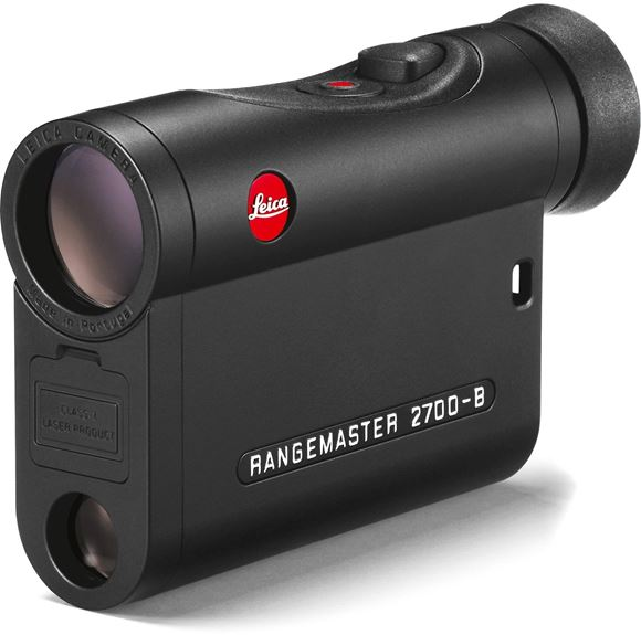 Picture of Leica Sport Optics, Rangemaster Rangefinders - CRF 2700-B, 7x24mm, 10-2700yds (EHR Ballistics out to 1200yds), Compatible With Leica ABC Ballistic Data via MicroSD, HDC Multicoating, LED Display, Black, CR2 3V