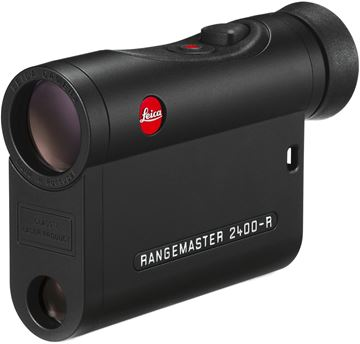 Picture of Leica Sport Optics, Rangemaster Rangefinders - CRF 2400-R, 7x24mm, 10-2400yds (EHR Ballistics out to 1200yds), AquaDura Lens Coating, LED Display, Black, CR2 3V