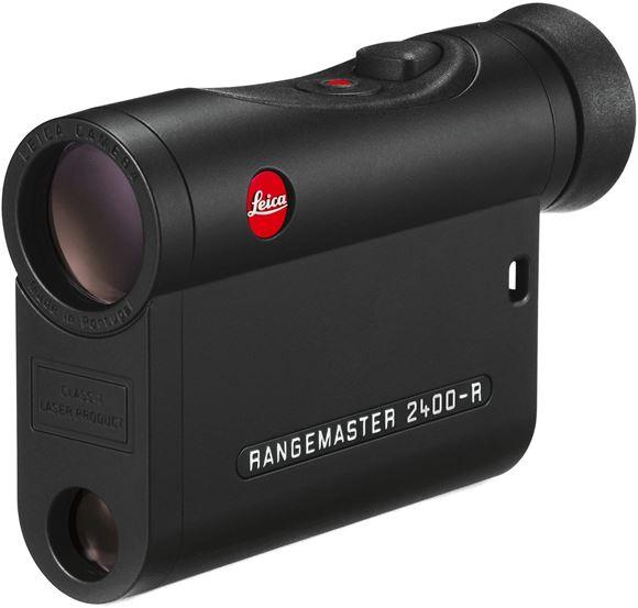 Picture of Leica Sport Optics, Rangemaster Rangefinders - CRF 2400-R, 7x24mm, 10-2400yds (EHR Ballistics out to 1200yds), AquaDura Lens Coating, LED Display, Black, CR2 3V