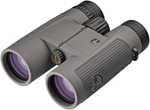 Picture of Leupold Optics, BX-1 Mckenzie Binocular - 8x42mm, Shadow Gray Finish, Center Focus, Roof Prism, 100% Waterproof