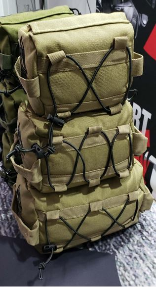 "Picture of Lockhart Tactical - Long Range PRS Shooting Bag Set, Unfilled, FDE, Sm (3"",4"",6"") Med (4"",5"",7"") Lg (5"", 6"", 8"")"